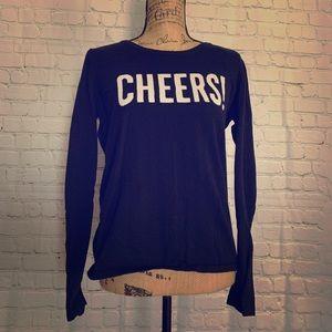 Gap Medium Black 'Cheers!' Sweater